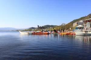 尊享VIP丽江拉市海茶马古道+在水一方会所纯玩一日游