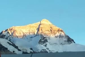 <拉萨去珠峰旅游四日游>、珠峰海拔、珠峰门票、拉萨包车到珠峰