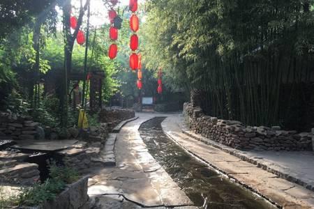 国庆节休闲度假旅游_青岛去临沂五星智圣温泉+竹泉村二日
