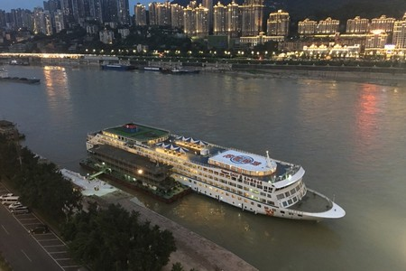 长江黄金6号游轮_宜昌到重庆长江三峡五日游