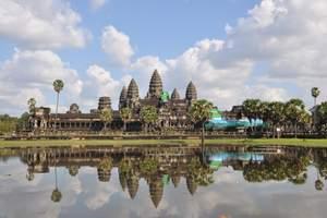 合肥到柬埔寨旅游 柬埔寨包机双飞六日游