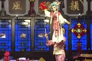 成都一日游 蜀风雅韵剧院灯光 舞美环境 演员水平软件硬件介绍