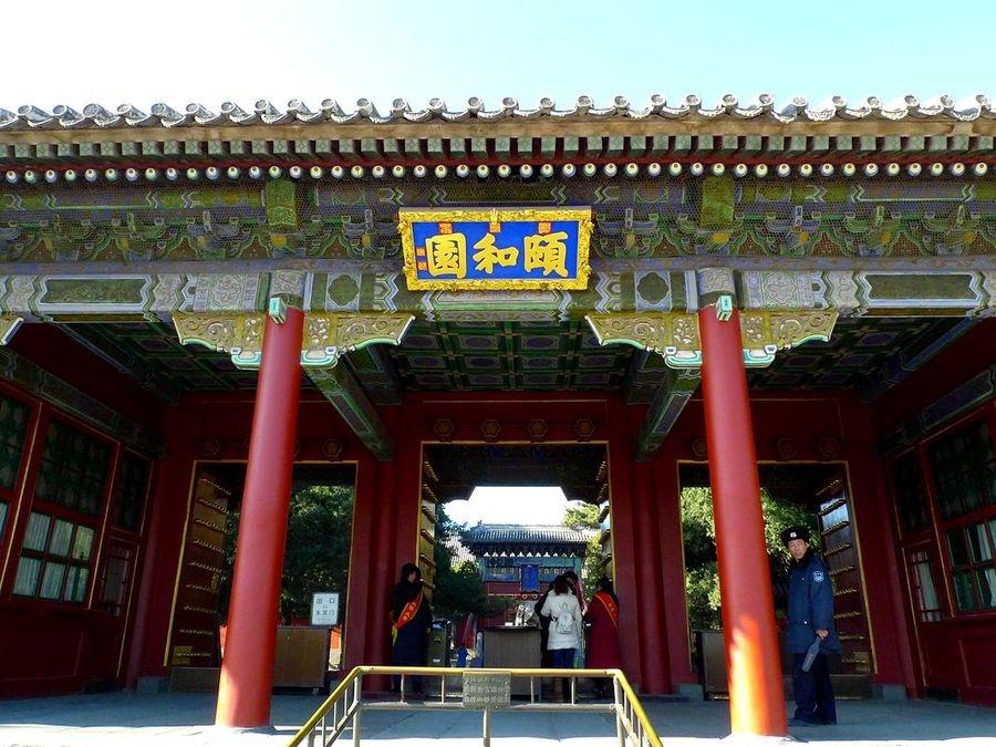颐和园-八达岭长城-故宫-798艺术区-看升旗-水立方二日游