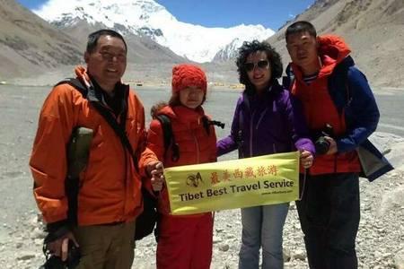 B1線:外國人去西藏 拉薩-日喀則-珠峰大本營8日游入藏函