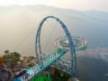 """世界第一悬空钛合金玻璃""""UFO""""京东石林峡观景台品质一日游"""