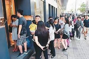 """内地游客""""黄金周""""涌港 香港旅游人财两旺大幅回暖"""