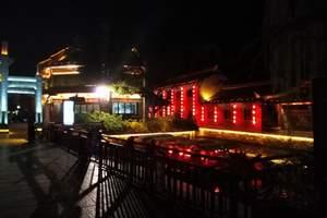 泰安春季到台儿庄古城赏夜景、兰陵农博园大巴纯玩2日游住古城