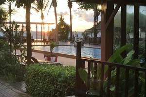 成都直飞泰国甲米自由行-住娜卡曼达五星酒店萨拉别墅房