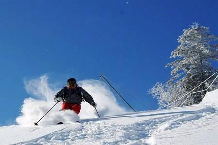 长春到吉林万科滑雪 长春到万科松花湖滑雪场一日游 万科滑雪票