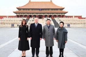 中美元首游故宫,中外游客都点赞