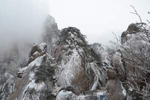 福州去黄山看雾凇|黄山、西递、花山谜窟双动三日游|山顶日出W