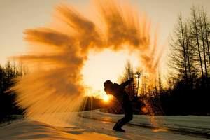 【4天3晚】中国冷级呼伦贝尔冬季激情滑雪、冰雪旅游包车自由行