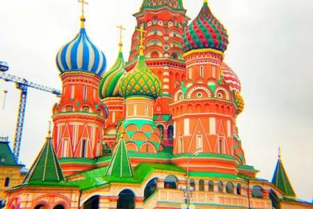 青岛去俄罗斯旅游团-经典双城莫斯科+圣彼得堡双飞9日青岛直飞