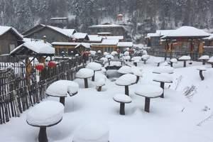 长春到哈尔滨冰雪大世界+童话雪乡三日游