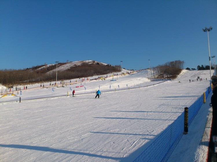 (可单售票)宝鸡到鳌山滑雪一日游