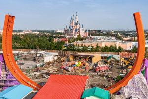 """上海迪士尼""""玩具总动园""""园区将于明年4月26日开幕"""