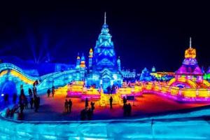 沈阳到哈尔滨冰雪大世界,沈阳-哈尔滨冰雪大世界动车往返两日游