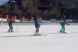 2018去军都山滑雪场周末滑雪一日游+龙脉熔岩温泉养生一日游