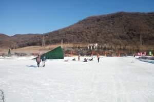 安吉观音塘滑雪场门票(安吉小岭头雪村冰雪童话世界)