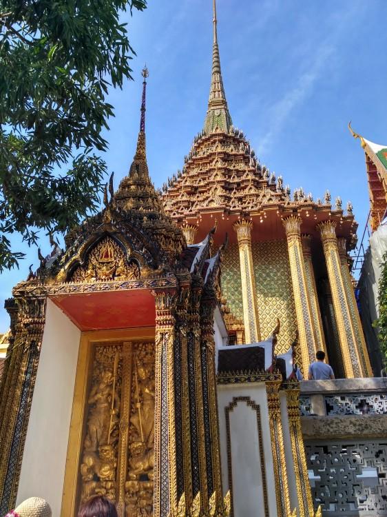 泰国曼谷\湄南河\金沙岛\金龙寺六天团