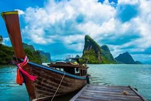 <感恩回馈 特价团>郑州往返甲米普吉岛马代式度假7天5晚跟团