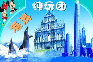 深圳到香港澳门四日游 香港海洋公园、迪士尼乐园四日纯玩游线路
