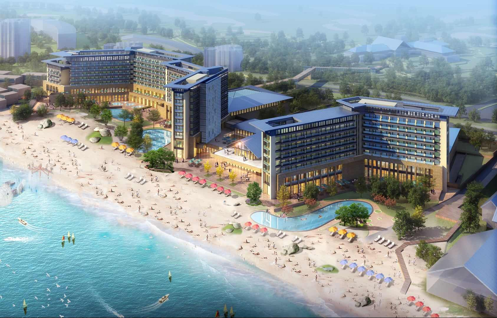 北戴河阿那亚私家海滩酒店/北戴河黄金海岸度假村