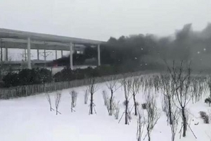 青岛开往杭州G281次高铁着火 原因正在调查