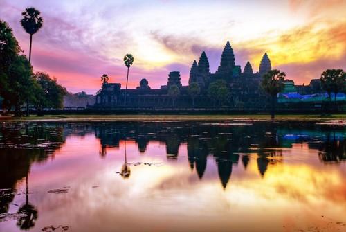 <穿越吴哥>郑州往返柬埔寨6天5晚跟团游
