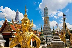泰国8日游,海口到泰国曼芭普,曼谷、芭提雅、普吉岛8天7晚游