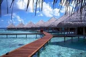 马尔代夫绚丽岛4晚6天自由行  北京直飞  五星级海岛度假