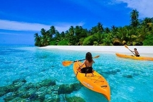 马尔代夫维莉督岛6天4晚2沙+2水 超值五星岛屿、A级浮潜