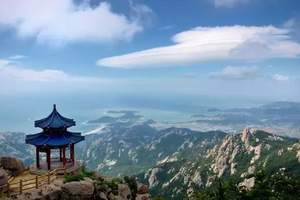 崂山巨峰景区跟团一日游,巨峰跟团游推荐线路,崂山+市区一日游
