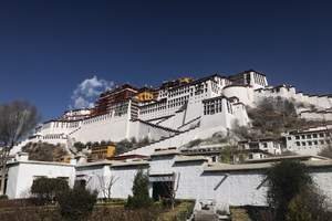 深圳出发去西藏旅游、西藏布达拉宫、纳木措、林芝、卡定沟7天游