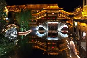 12月青岛到枣庄台儿庄 大战馆 住古城 摇橹船 微山湖2日游