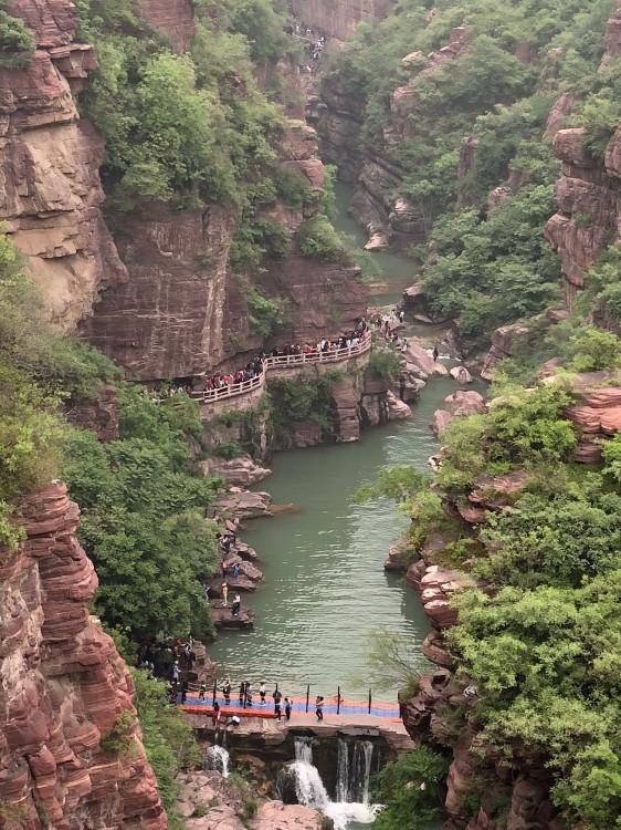 郑州至焦作云台山一日游