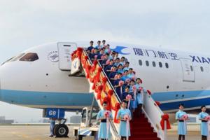 厦航计划年底开通福州-巴黎航线 每周5班