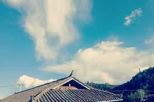 绵阳到丽江+泸沽湖纯玩双飞6日游