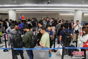 公安部:6月18日起中国公民出入境通关排队将不超30分钟