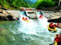 昆山吴江苏州企业团队出发到安吉竹博园+深溪峡谷漂流一日游