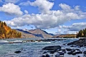 暑假宁波到乌鲁木齐、喀纳斯、五彩滩、禾木双飞8日/新疆旅游