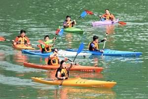 河源万绿湖皮划艇+桨板一日游