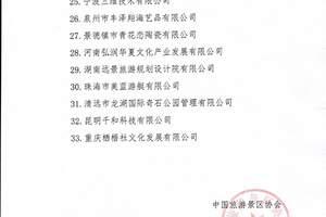 去哪儿网等33家单位被取消中国旅游景区协会会员资格