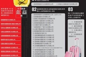 9月昆明旅行社红黑榜:10家旅行社上红榜 27家上黑榜
