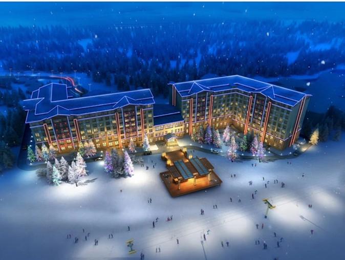 亚布力滑雪场亚布洛泥国际假日酒店预定(面积35平米