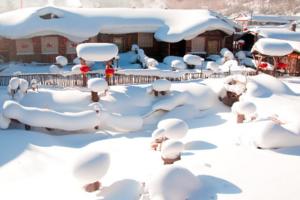 [东北]亲子游雪乡_小手拉大手北京到哈尔滨中国雪乡双飞五日游
