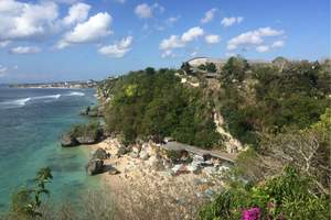 鄭州飛巴厘島8日雙島出海+Spa+海景下午茶+金巴蘭海灘