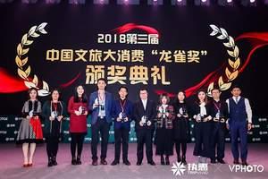 """赖润星荣获2018中国文旅大消费""""文旅新锐CEO""""龙雀奖"""