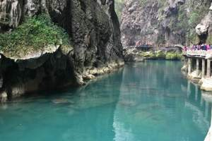 青岛到贵州梵净山黄果树瀑布荔波小七孔 双飞六日游