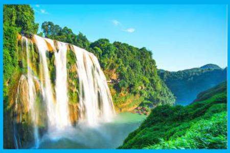 真纯玩-黄果树瀑布+天星桥+陡坡塘 1 日游 贵州贵阳租车
